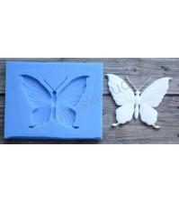 Форма силиконовая (молд) для полимерной глины, Бабочка-2, 30х23 мм