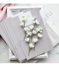 Цветы ручной работы из ткани Веточки яблони, 4 веточки