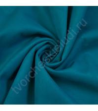 Искусственная замша Suede, плотность 230 г/м2, размер 50х70см (+/- 2см), цвет морская волна