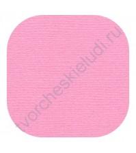 Кардсток текстурированный 30.5х30.5 см, цвет Жевательная резинка, плотность 235 гр/м2