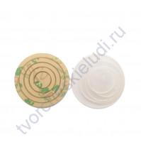 Набор шейкеров Круги мини, 4 элемента, толщ. 2 мм, цвет молочный