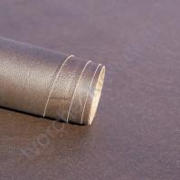 Кожзам переплетный с тиснением под мятую кожу, плотность 255 гр/м2, 70х50 см, цвет кофейный