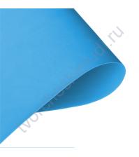 Кожзам переплетный на полиуретановой основе плотность 230 гр/м2, 50х35 см, цвет F003 - лазурный