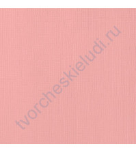 Кардсток текстурированный Персик (Peach), 30.5х30.5 см, 216 гр/м2