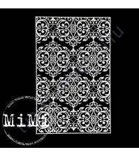 Чипборд Набор Узоры дамаск, коллекция Фоны, 10х15 см