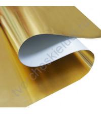 Термотрансферная пленка-фольга Foil, цвет зеркальное золото, 25х25 см (+/- 1 см)