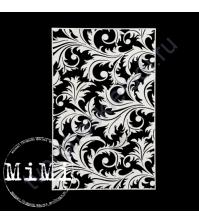 Чипборд Набор Цветущий плющ, коллекция Фоны, 10х15 см