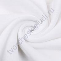Флис, плотность 230 гр/м2, 75х100 см, цвет белый
