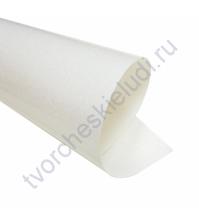 Термотрансферная пленка Глиттер, цвет белый, 25х25 см (+/- 2 см)