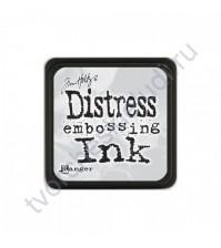 Мини-подушечка Distress mimi чернильная для эмбоссинга, размер 2.5х2.5 см, цвет прозрачный