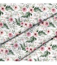 Ткань для рукоделия Розы, 100% хлопок, плотность 150 гр/м2, размер отреза 50х80 см
