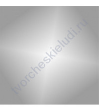 Термотрансферная пленка, цвет глянцевое серебро, 25х25 см, sc101002