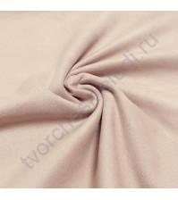Искусственная замша двусторонняя, плотность 310 г/м2, размер 50х75 см (+/- 2см), цвет пудровый розовый