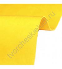 Кожзам переплетный на полиуретановой основе плотность 230 гр/м2, 50х70 см, цвет E280 - кукурузный