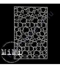 Чипборд Набор Пузырики, коллекция Фоны, 10х15 см