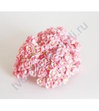 Цветы вишни мини, 10 шт, цвет розовый