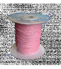 Вощеный Шнур Бледно-розовый от Фирмы Gamma, 1м