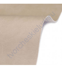 Кожзам переплетный на полиуретановой основе плотность 230 гр/м2, 50х70 см, цвет E476-св.бежевый