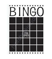 Папка для тиснения Darice Embossing Essential Bingo 1218-09