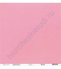 Кардсток текстурированный 30.5х30.5 см, цвет Сахарная вата, плотность 235 гр/м2