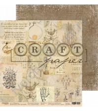 Бумага для скрапбукинга двусторонняя коллекция Алхимия, 30.5х30.5 см, 190 гр/м, лист Средневековье