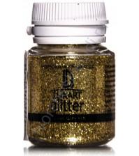 Декоративные Блестки LuxGlitter, Золото, 20 мл