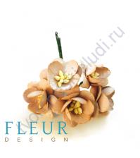 Цветочки Вишни Капучино, размер цветка 2.5 см, 5 шт