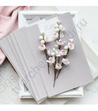 Цветы ручной работы из ткани Веточки вишни, 4 веточки