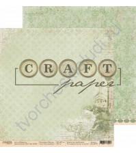 Бумага для скрапбукинга двусторонняя коллекция Шерлок, 30.5х30.5 см, 190 гр/м, лист Расследование