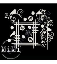 Чипборд Набор Радость, коллекция Летняя, размер 10х15 см