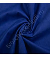 Искусственная замша Suede, плотность 230 г/м2, размер 50х70см (+/- 2см), цвет сапфир