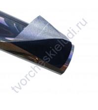 Термотрансферная пленка Флок, цвет черный, 25х25см (+/- 2 см)