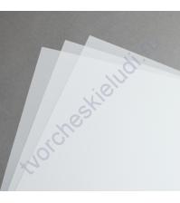 Калька (веллум) 30х30 см, 90 гр/м, цвет белый, 1 лист