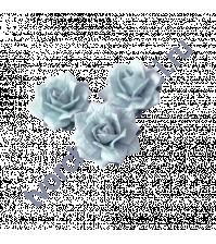 Цветы Жасмина 5 шт, цвет голубой