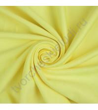 Искусственная замша двусторонняя, плотность 310 г/м2, размер 50х75 см (+/- 2см), цвет лимонный желтый