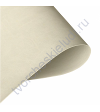 Кожзам переплетный на полиуретановой основе плотность 230 гр/м2, 50х70 см, цвет B919 серо-бежевый