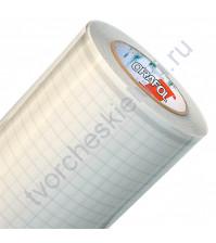 Отрез монтажной многоразовой пленки для переноса винилового декора Oracal, 25х25 см (+/- 0.5см)
