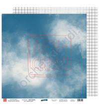 Бумага для скрапбукинга двусторонняя, 30.5х30.5 см, плотность 190 гр/м2, коллекция Вне рамок, лист Слушай себя