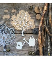 Набор ножей для вырубки Посадить дерево, 7 элементов