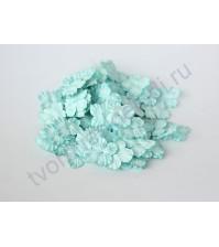 Мини-гортензия 2.5-3 см, 10 шт, цвет бирюзовый