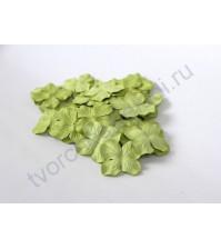 Лепестки гортензии большие 5 см, 10 шт, цвет зеленый