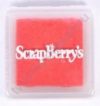 Пигментные чернила 2.5x2.5 см, цвет Ярко-розовый