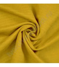 Искусственная замша Suede, плотность 230 г/м2, размер 50х70см (+/- 2см), цвет горчичный