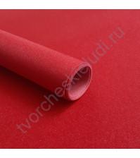 Кожзам переплетный на полиуретановой основе с фактурой глиттерплотность 280 гр/м2, 35х50 см, цвет 7809-красный