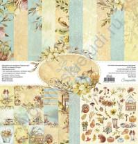 Набор двусторонней бумаги Lovely autumn, 7 листов, 30.5х30.5 см