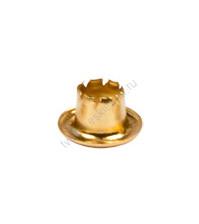 Набор блочек (люверсов) 4мм, цвет золото, 20 шт