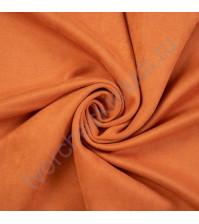 Искусственная замша Suede, плотность 230 г/м2, размер 35х50см (+/- 2см), цвет абрикосовое варенье