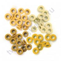 Набор люверсов Memory Keepers 60 шт, оттенки желтого