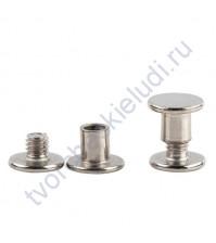 Винт для установки кольцевого механизма, высота 5 мм, цвет серебро