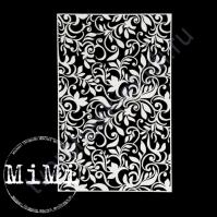Чипборд Набор Цветочные узоры, коллекция Фоны, 10х15 см